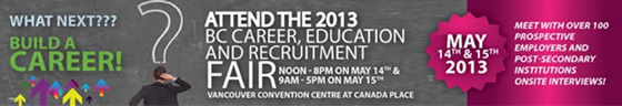 BC Career, Education and Recruitment Fair